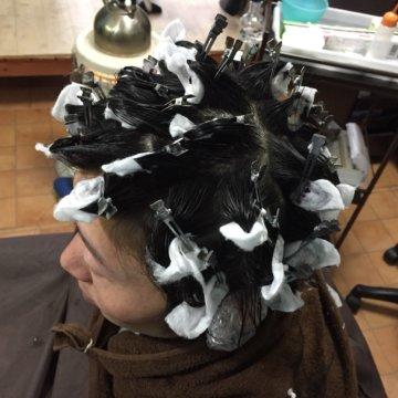 ツイストピンパーマ | 大分メンズ美容室ブルーハンズ
