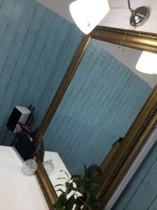 大分24時間美容室ブルーハンズ鏡