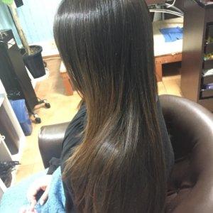艶髪、サラサラ超音波トリートメント